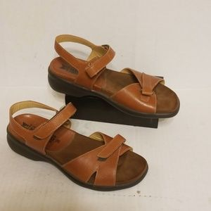 Mephisto leather sandals women's size 8